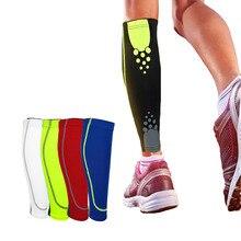 7 Kinds 1PCS Basketball Football Leg Sleeves Calf Compression Running Cycling Shin Guards UV-Protector Soccer Fitness M L XL