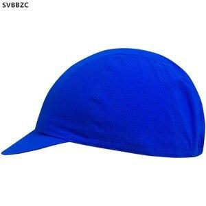 Tampas de ciclismo azul de qualidade, chapéu para homens, esportivo, proteção solar uv, mtb, bicicleta, capacete no interior