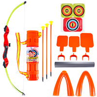 Surwish Children Outdoor Simulation Bow And Arrow Set Sports Shooting Toys