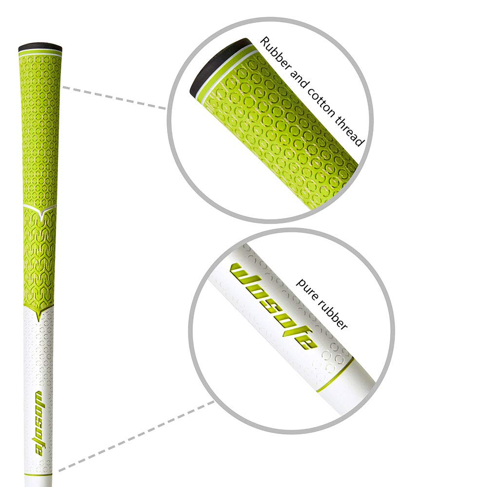 Image 5 - Golf Grip Standard mens Non slip soft cord for golf club irons free shipping-in Club Grips from Sports & Entertainment