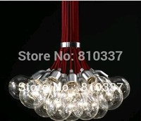 NEW New 19 Lights Idle Max Sea Urchins Glass Ceiling Light Lamp Chandelier EMS Dining Room