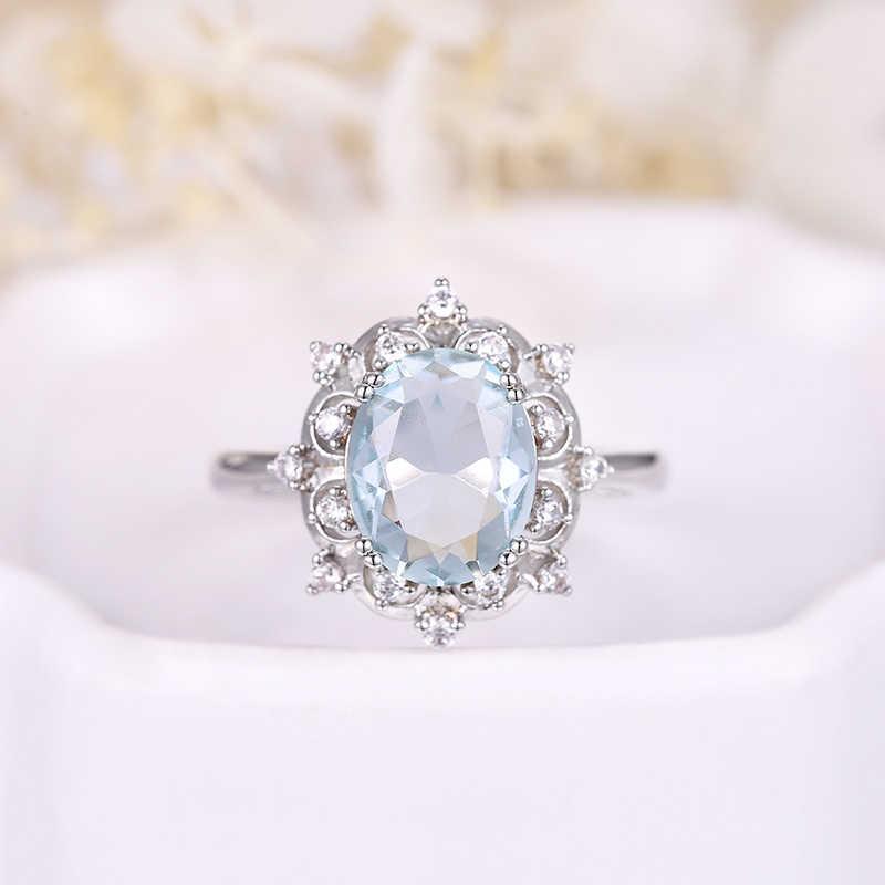 ЦИРКОНИЕВЫЕ ювелирные изделия новая модель обручальное кольцо серебристого цвета овальной формы AAA CZ камень Вечность кольцо