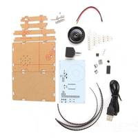 Free Shipping LED Music Spectrum Electronic DIY LED Flash Kit 12 11FFT