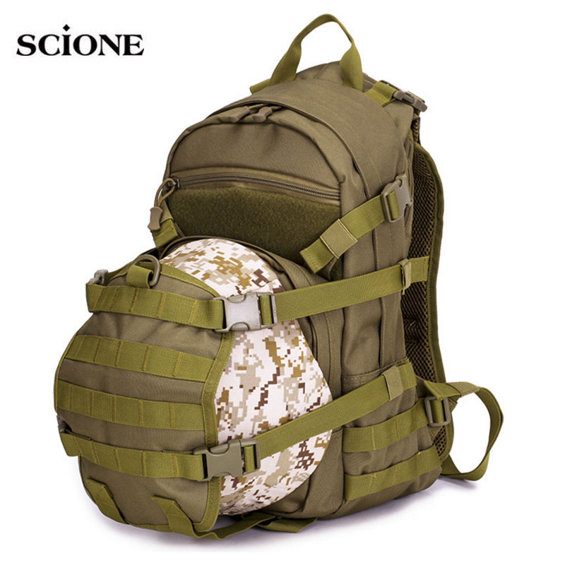 Climbing Bags Cheap Sale Scione Outdoor Tactical Military Backpack Camping And Hiking Backpack For Man Camouflage Large Travel Cross Body Sport Bags Sports & Entertainment