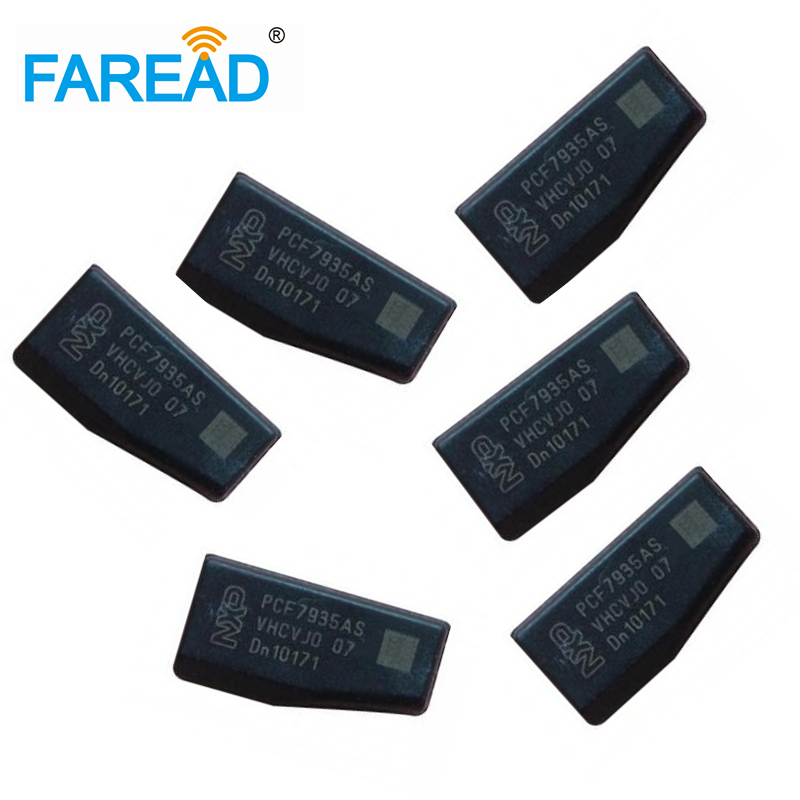 X50pcs 125khz Transponder Key Chip Brick Tag PCF7935AS