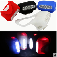 HOT Super Bright Bike Bicycle Lights 5 LED Bicycle Cycling Back Tail Light Safety Flashing Rear