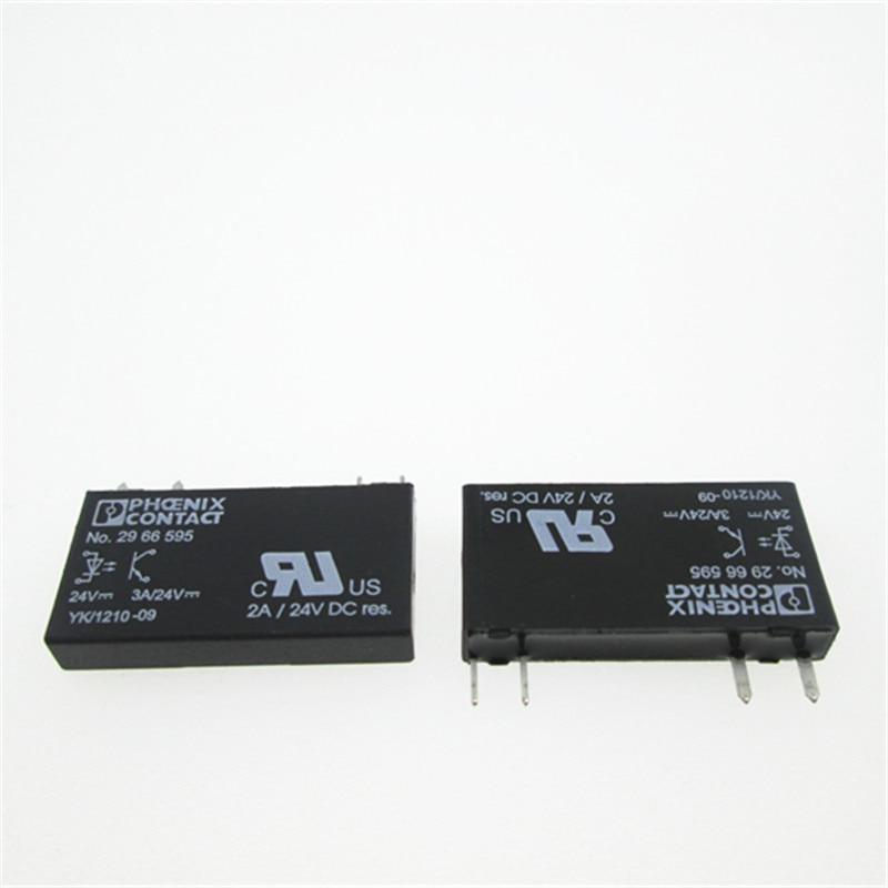 Solid state 24V relay NO.2966595 NO2966595 NO 2966595 3A 24V 24VDC DC24V 4PIN