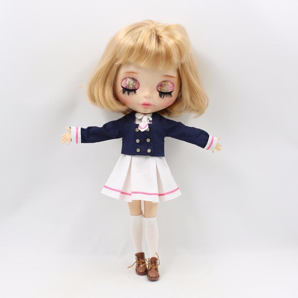Neo Blythe Doll School Uniform Dress 2