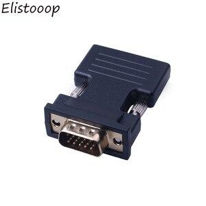 Image 2 - Nữ HDMI Đực Sang VGA Có Âm Thanh Adapter Hỗ Trợ 1080P Tín Hiệu Đầu Ra Cho Đa Phương Tiện