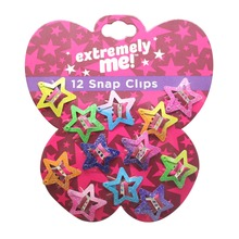 6 Pairs Cute Glitter Pentagram Children Hairpins Barrette Accessories For Girls Kids Hair Ornament Hairclip Headdress