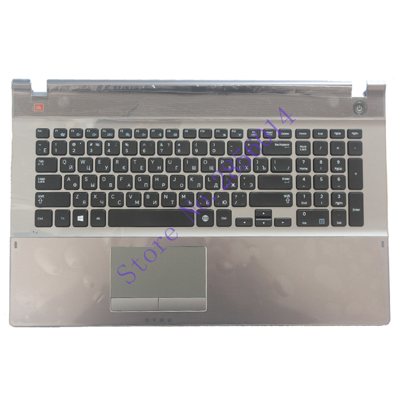 New Russian Keyboard For Samsung 500P7C 550P7C  NP550P7C NP500P7C RU Laptop Keyboard With C Shell BA75-03791C