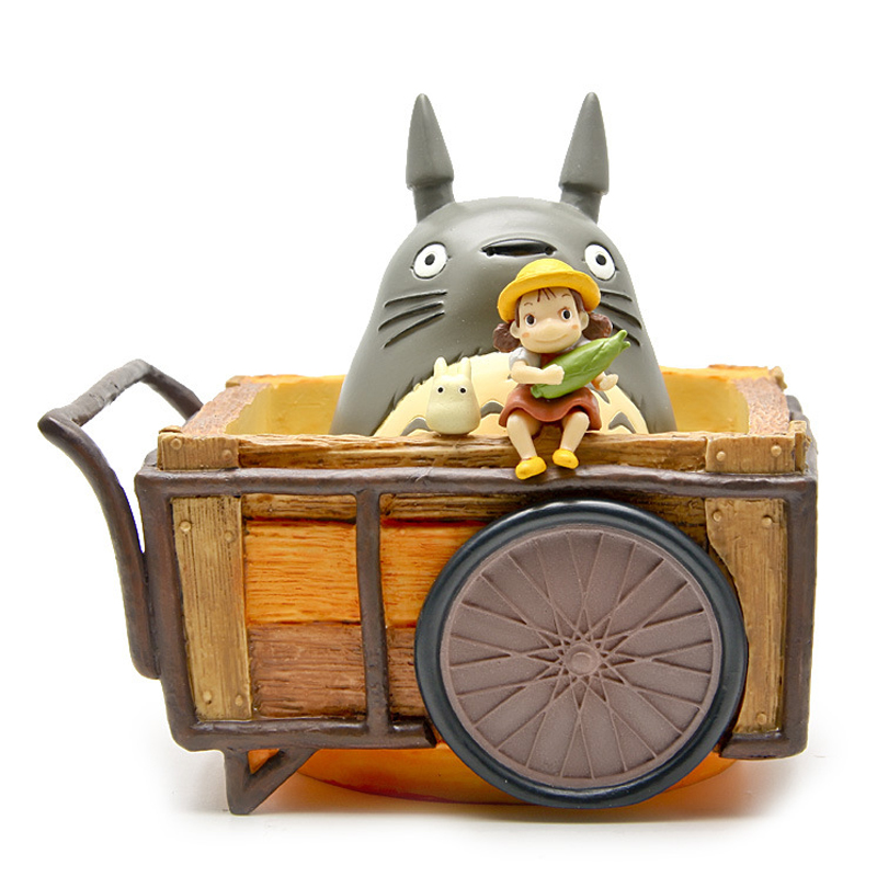 все цены на 1set Miyazaki Hayao My Neighbor Anime Totoro Figure Totoro Mei Fairy Dust Resin Action Figure Toy Gifts for Garden Home Decor