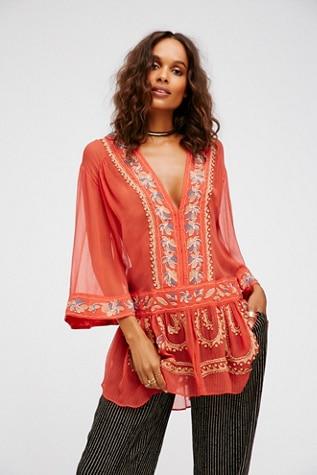 Personnes Broderie D'été Femme Hippie Cou Manches Robe V Flare Neuf Mini Flambant Boho 2019 Nous Perles Femmes Robes wvXqRqa