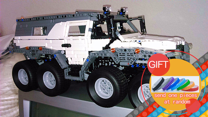23011 2959pcs Technical Series Off-road vehicle set Model Building kits Block Compatible with 5360 Toys lepin new lepin 23011 technic series 2816pcs off road vehicle model building blocks bricks kits compatible 5360 boy brithday gifts