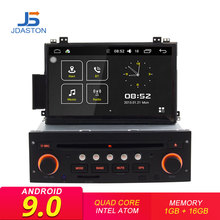 JDASTON Android 9,0 dvd-плеер автомобиля для Citroen C5 2005-2012 gps навигации Аудио мультимедиа вайфай стерео 1 Дин Радио стерео