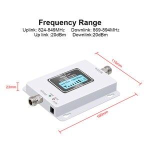 Image 3 - CDMA Ретранслятор 850 МГц 70 дБ ЖК 2G 3G 4G 850 МГц UMTS GSM CDMA