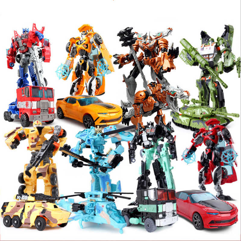 Boy Christmas Toy.19cm Height Transformation Deformation Robot Toy Action Figures Toys For Boys Christmas Gifts