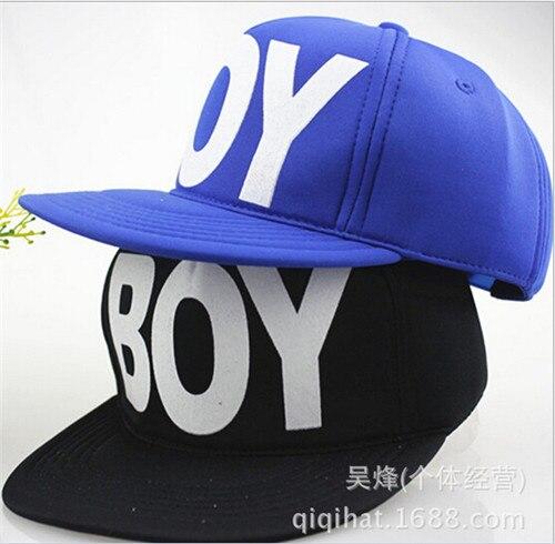 891af4af22f52 2016 Fashion Cool Letter Boys Kids Baseball Cap Adjustable Children Hip Hop Cap  Baby Autumn Winter Hats
