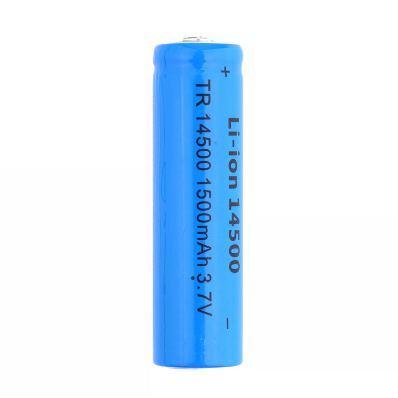 GTF 3.7V 1500mah 14500 Li-ion Battery Rechargeable Battery 14500 Battery For RC Toy Shaver LED Light Powerbank Remote Control
