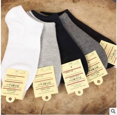 Fcare/новинка года, 20 шт. = 10 пар белых носков, мужские носки из 80% хлопка, Тапочки, повседневные Элитные невидимые короткие носки, летние тонкие носки - Цвет: mix
