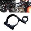 """Motocicleta 39mm/16 """"Black Anodizado Montagem Lateral Speedo Relocation Suporte Para Harley Sportster XL"""