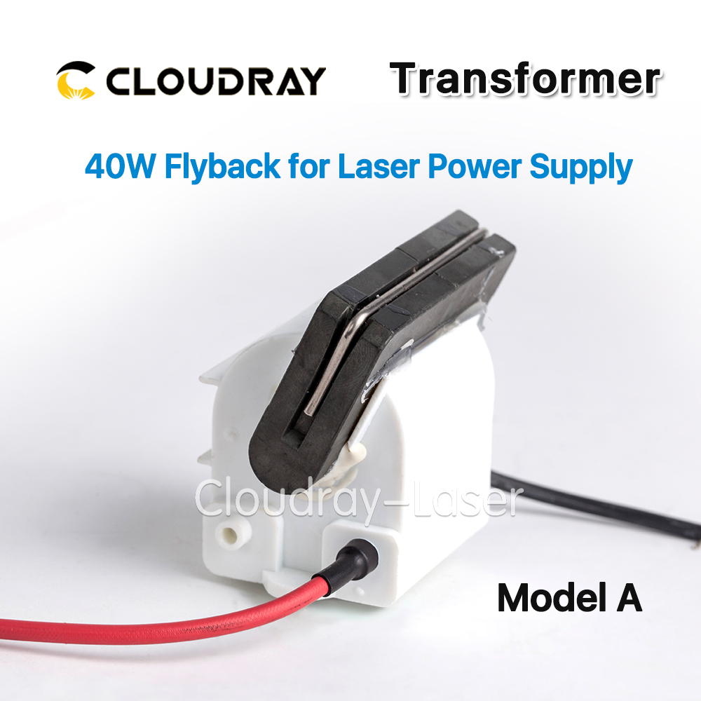 High Voltage Flyback Transformer For CO2 40W Laser Power Supply Model A