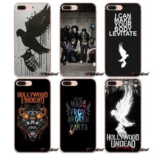 Hollywood Undead Fly Eagle Wings TPU Крышка Для iPhone Х 4 4S 5 5S 5C SE 6 6 S 7 8 Плюс Samsung Galaxy J1 J3 J5 J7 A3 A5 2016 2017(China)