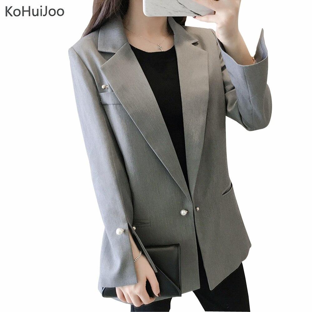 1d2548eb220 KoHuiJoo-2019-primavera-oto-o-coreano-Oficina-Blazer -se-oras-nueva-moda-s-lido-bot-n.jpg
