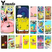 Yinuoda SpongeBob SquarePants Sponge Bob TPU Soft Silicone Phone Case Cover for iPhone 5 5Sx 6 7 7plus 8 8Plus X XS MAX XR