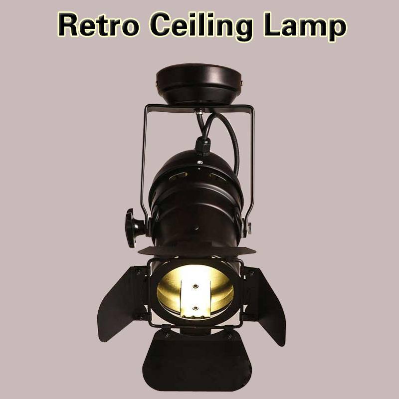ФОТО Ceiling Pendant lamp chandelier RH Loft American Rural Industrial Retro personality Lighting minimalist