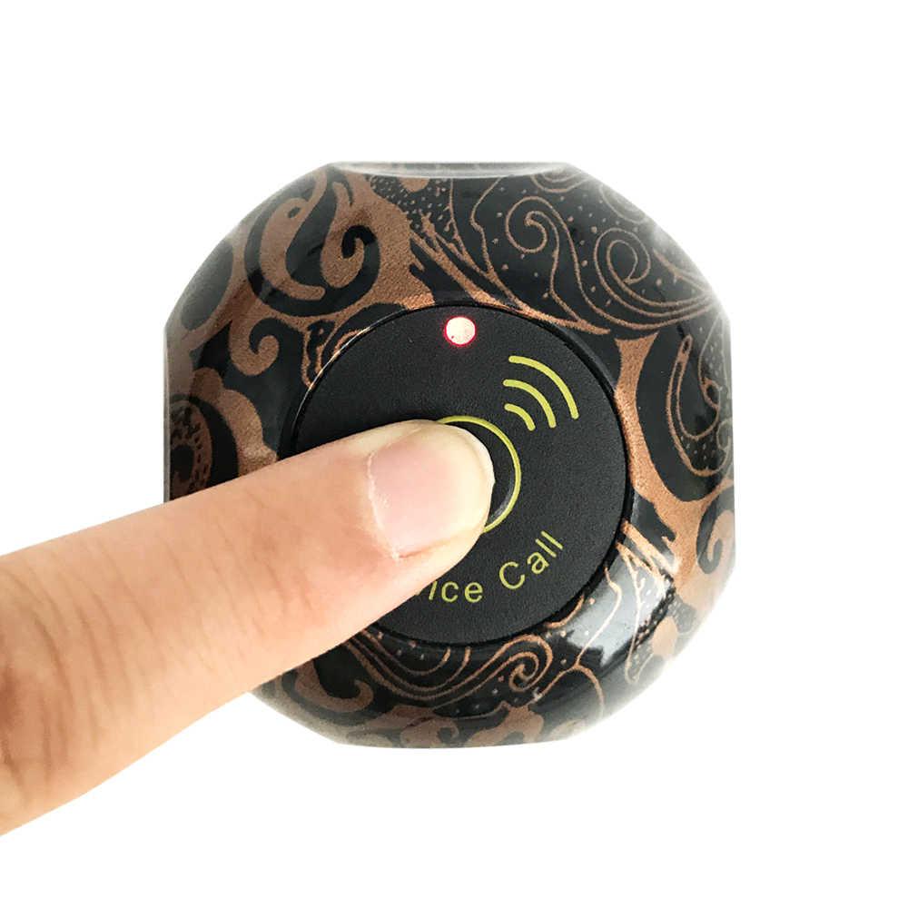 JINGLE BELLS kaliteli konuk çağrı düğmeleri 433 mhz çağrı düğmeleri çağrı bells hizmet cafe hizmet çağrı düğmeleri üzerinde satış
