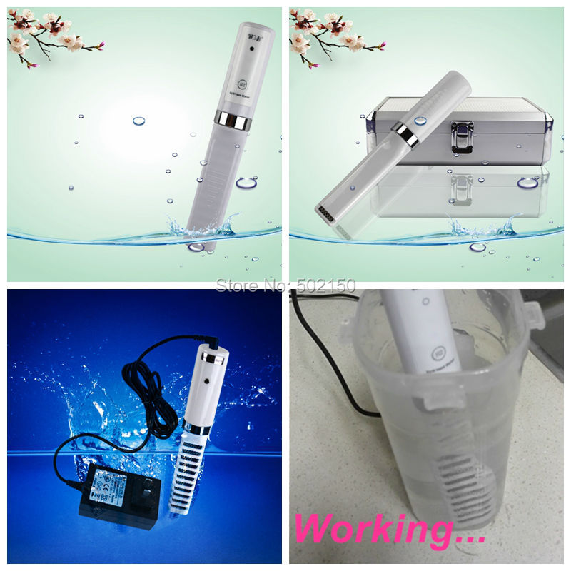 3 pcs/lot active hydrogen water generator for sample testing, free shipping to Portugal