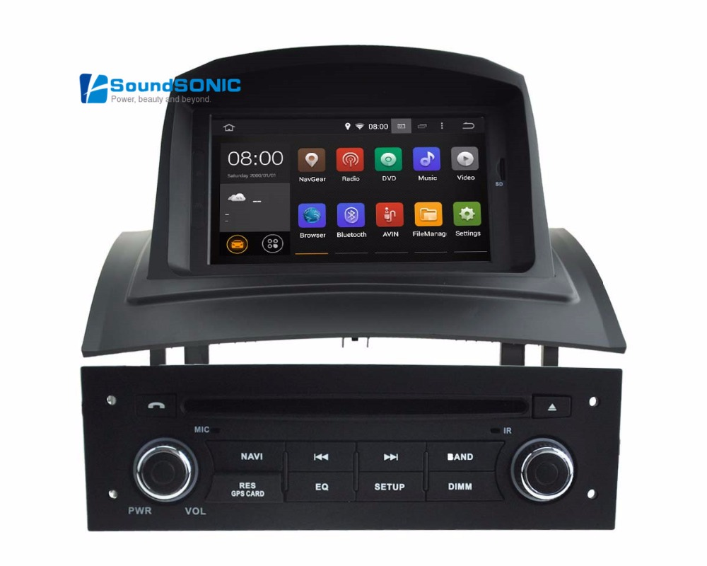 pure android 5 1 1 system for renault megane ii 2 fluence autoradio gps system car stereo system. Black Bedroom Furniture Sets. Home Design Ideas