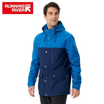 RUNNING RIVER Men Camping Hiking Jacket 4 Colors Size 46 - 56 High Quality Clothes Outdoor windbreaker Windproof coat #K8375