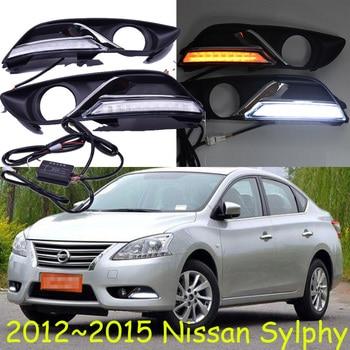 2012~2015 Sylphy daytime light,Free ship!LED,Sylphy fog light,2ps/set;Sylphy;bluebird daytime light;bluebird