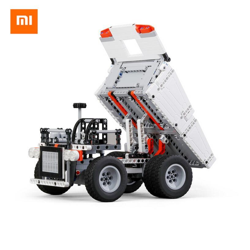 Original Xiaomi Mitu Block Robot Mine Truck Toys For 6