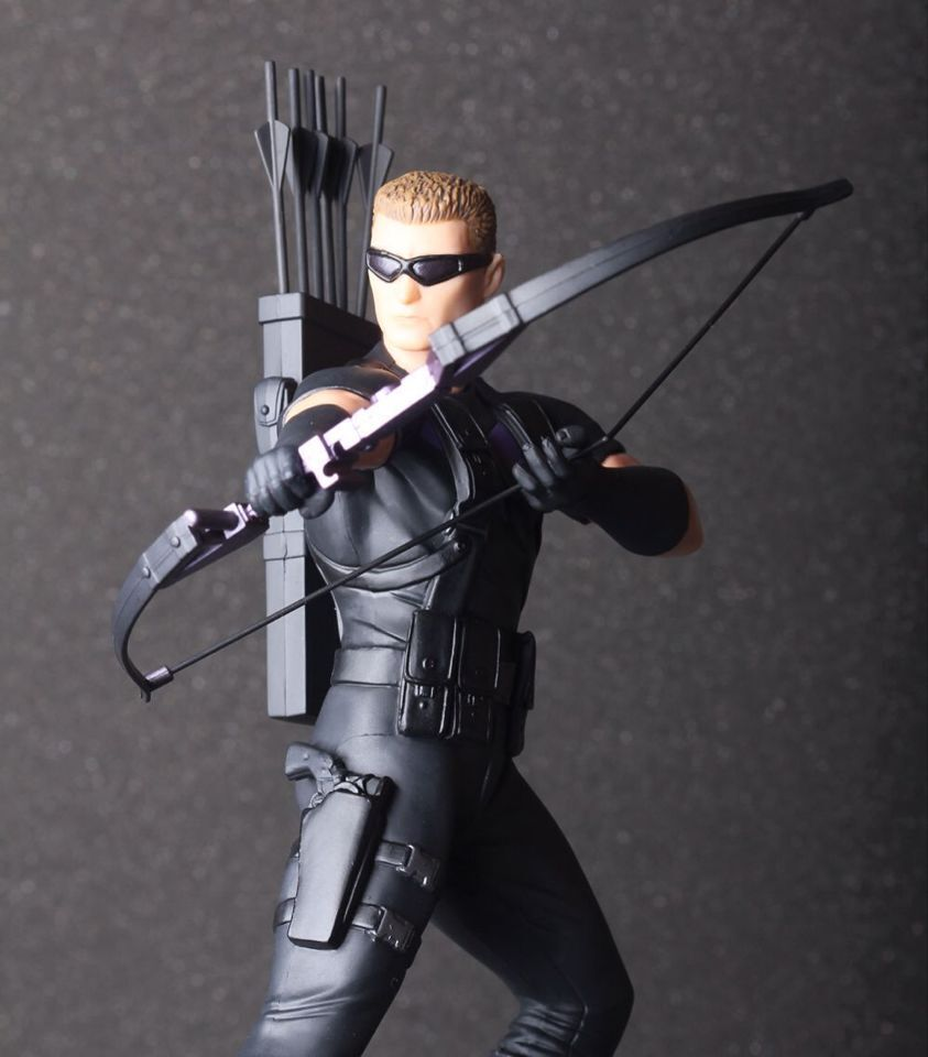 18cm Super Hero The The 2 Age of Ultron Hawkeye PVC Action Figure Collectible Toy neca marvel legends venom pvc action figure collectible model toy 7 18cm kt3137