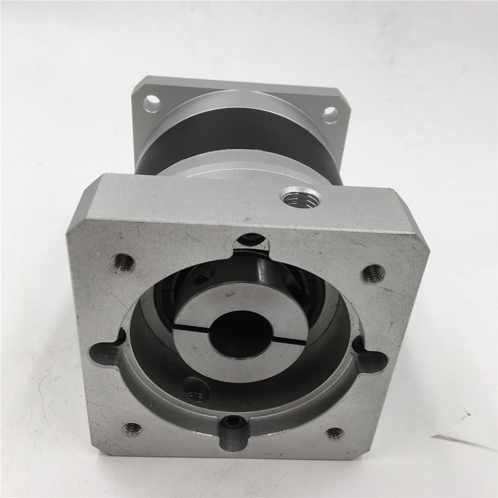 Servo Motor Planeten Getriebe 50: 1 Nema32 Servo Geschwindigkeit Minderer 10ARCMIN 210Nm 6000rpm Max Eingang Geschwindigkeit für 80mm Servo Motor