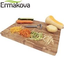 ERMAKOVA Stainless Steel Multi-purpose Vegetable Peeler & Julienne Cutter
