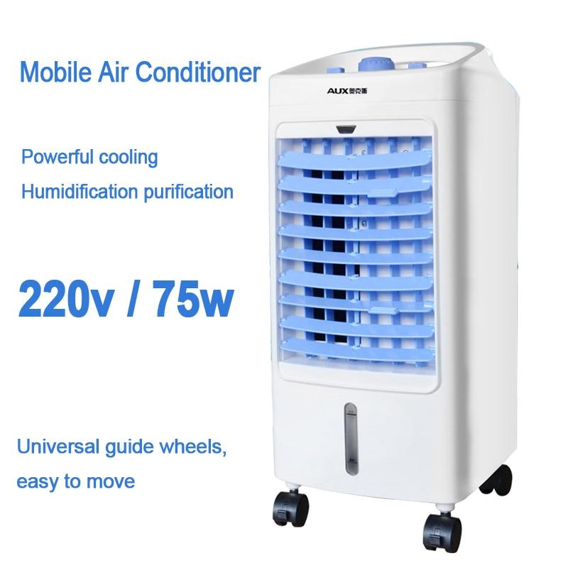 Kleine Klimaanlage Geräte Haushaltsgeräte Einfach Dmwd Hostel Kälte Klimaanlage Fan Einzigen Kalten Typ Conditioner Lüfter Kühler Pad Kühlung Wasser Kühler Matratze