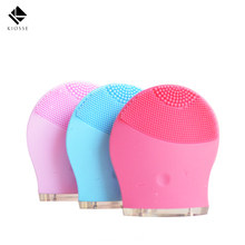 Electric Face Cleanser Vibrate Pore Clean Silicone Cleansing Brush Massager Facial Vibration Skin Care Spa Massage A249