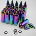 20 PCS/set UNIVERSAL FOR WHEELS LOCK LUG NUTS M12X1.5 ACORN RIM CLOSE END FOR HONDA TOYOTA