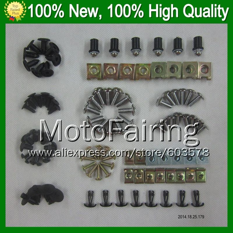 Fairing bolts full screw kit For KAWASAKI NINJA ZX 10R 11 15 ZX 10 R ZX