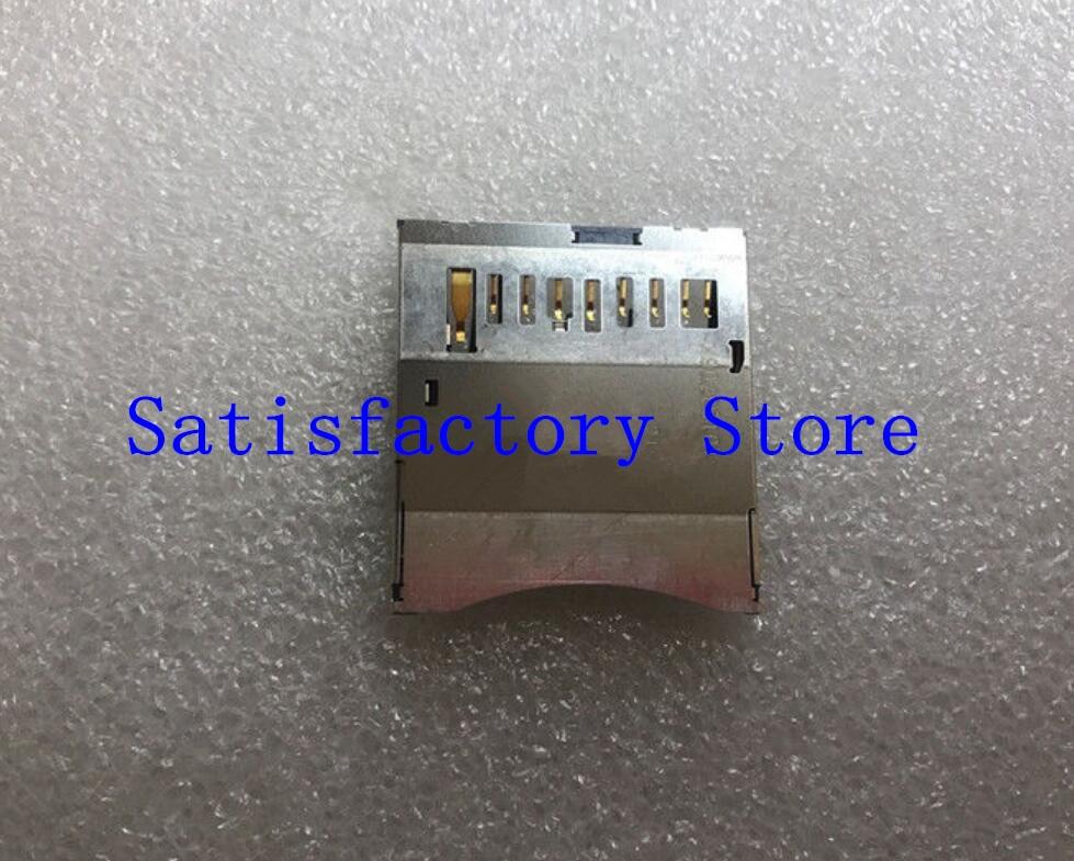 New SD Memory Card Slot Repair Parts For Canon 6D 650D Rebel T4i 700D T5i 5D Mark III 5D3 5Ds G7 G9 SX20 HS SLR Camera