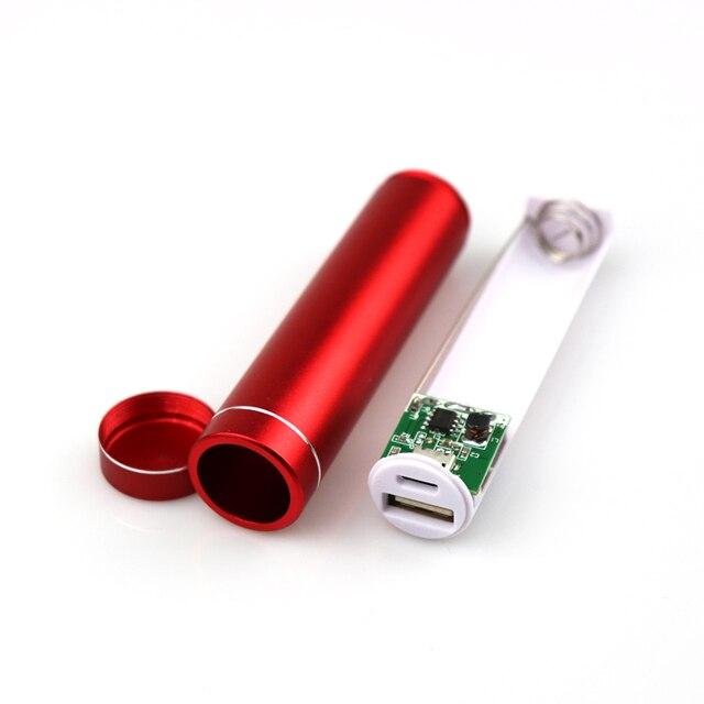 USB đa năng Công Suất Ngân Hàng Ốp Lưng Bộ DIY 1 X Bộ Sạc Pin 18650 Hộp DIY Cho Samsung Xiaomi Điện Thoại Di Động toàn bộ sale