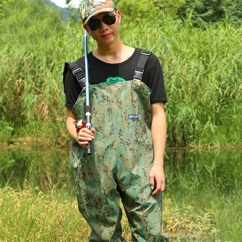 Waterproof Fishing Chest Waders Fishing waders Pants Waterproof Jump Suit Waders With Boots For Fishing Waterproof Trousers
