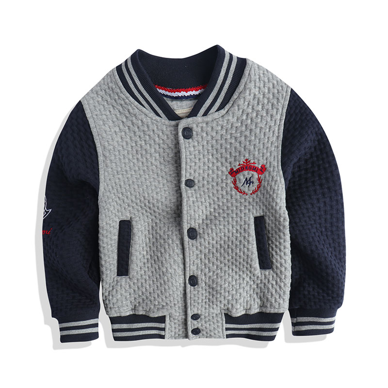 boy padded jacket coat children baseball uniform O Douo baby ...