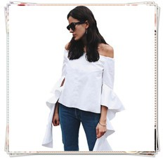 off shoulder blouese and shirts