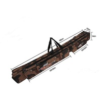 Large Camouflage Case for Fishing Rod