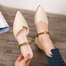 Sandals Female 2019 Summer New tip rough heel